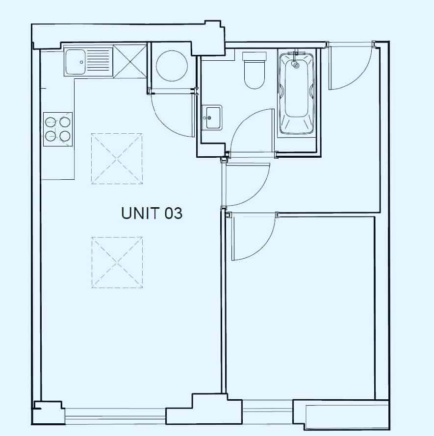 Kings House Property Floor Plan